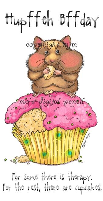 Cupcake Hamster