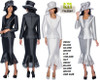 GMI STYLE #G6643  COLOR: BLACK , SILVER, WHITE   SIZE: 8-18       16W-30W  HAT G6643H - ONE SIZE  FOR PRICE AND MORE IMFORMATION  PLEASE GIVE US A CALL   WE BEAT  ALL PRICES !!!!  VIA MIMI FASHION  1333 S. SANTEE ST.  LA,CA.90015  TEL: (213)748-MIMI (6464)  FAX: (213)749-MIMI (6464)  E-Mail: mimi@viamimifashion.com  http://viamimifashion.com  https://www.facebook.com/viamimifashion    https://www.instagram.com/viamimifashion  https://twitter.com/viamimifashion