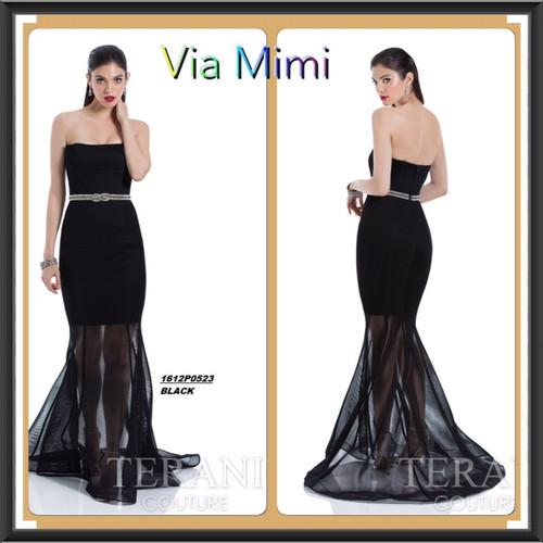 Terani 1612P0523 BEFORE $399.00    NOW $229.00    BLACK DRESS   FOR PRICE OR MORE IMFORMATION PLEASE GIVE US A CALL  VIA MIMI FASHION  1333 S. SANTEE ST   LA,CA.90015  TEL: (213)748-MIMI (6464)  FAX: (213)749-MIMI (6464)  E-Mail: mimi@viamimifashion.com  https://www.facebook.com/viamimifashion  https://www.instagram.com/viamimifashion  https://twitter.com/viamimifashion