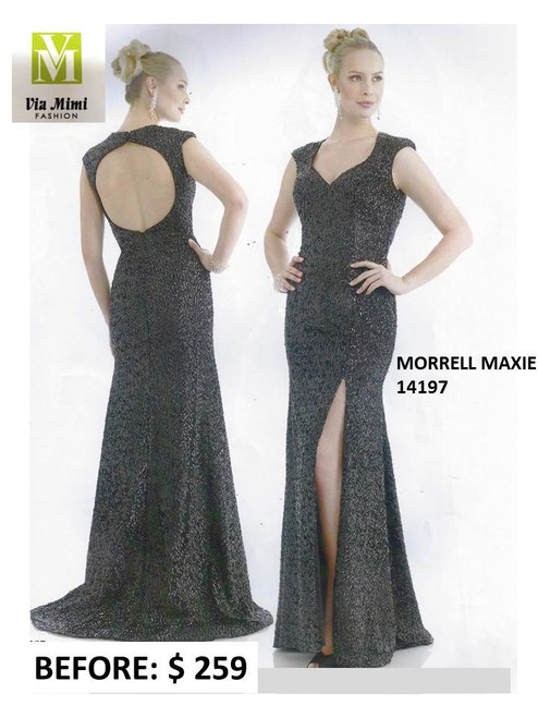 MORRELL MAXIE STYLE #14197 BLACK SIZE 20 -SPECIAL PRICE $159.00 !!