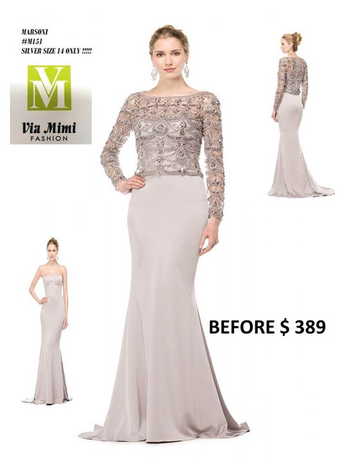 MARSONI STYLE M151 COLOR AS THE PICTURE SIZE 14 ONLY SPECIAL PRICE $289.00 !!!