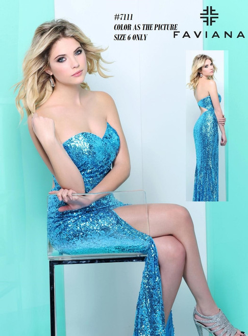 FAVIANA STYLE 7111  COLOR : AS THE PICTURE  SIZE : 6   ONLY   BEFORE $389.00  NOW $229.00  WE BEAT ALL PRICES !!!  FRO MORE IMFORMATION PLEASE CALL US   VIA MIMI FASHION  1333 S. SANTEE ST.  LA,CA.90015  TEL: (213)748-MIMI (6464)  FAX: (213)749-MIMI (6464)  E-Mail: mimi@viamimifashion.com  WEBSITE  http://viamimifashion.com  https://www.facebook.com/viamimifashion     https://www.instagram.com/viamimifashion  https://twitter.com/viamimifashion