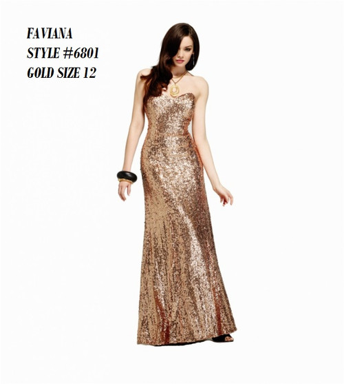 FAVIANA STYLE 6801  COLOR : GOLD  SIZE :  12  ONLY   BEFORE $459.00  NOW $229.00  WE BEAT ALL PRICES !!!  FRO MORE IMFORMATION PLEASE CALL US   VIA MIMI FASHION  1333 S. SANTEE ST.  LA,CA.90015  TEL: (213)748-MIMI (6464)  FAX: (213)749-MIMI (6464)  E-Mail: mimi@viamimifashion.com  WEBSITE  http://viamimifashion.com  https://www.facebook.com/viamimifashion     https://www.instagram.com/viamimifashion  https://twitter.com/viamimifashion