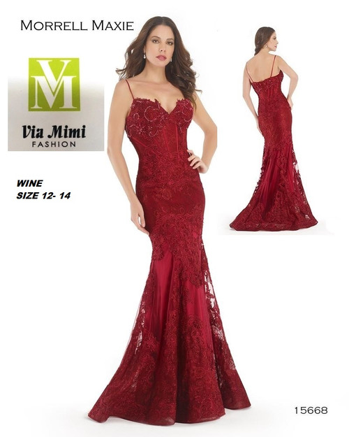 MORRELL MAXIE 15668  WINE 12-14   FOR MORE IMFORMATION AND PRICE PLEASE GIVE US A CALL   WE BEAT  ALL PRICES !!!!  VIA MIMI FASHION  1333 S. SANTEE ST.  LA,CA.90015  TEL: (213)748-MIMI (6464)  FAX: (213)749-MIMI (6464)  E-Mail: mimi@viamimifashion.com  http://viamimifashion.com  https://www.facebook.com/viamimifashion    https://www.instagram.com/viamimifashion  https://twitter.com/viamimifashion