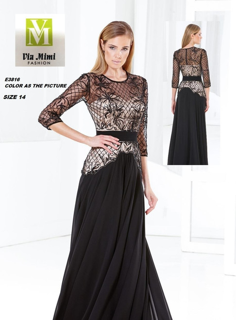 TERANI E3816  COLOR AS THE PICTURE SIZE 14 ONLY !!!  FOR MORE IMFORMATION AND PRICE PLEASE GIVE US A CALL   WE BEAT  ALL PRICES !!!!  VIA MIMI FASHION  1333 S. SANTEE ST.  LA,CA.90015  TEL: (213)748-MIMI (6464)  FAX: (213)749-MIMI (6464)  E-Mail: mimi@viamimifashion.com  http://viamimifashion.com  https://www.facebook.com/viamimifashion    https://www.instagram.com/viamimifashion  https://twitter.com/viamimifashion