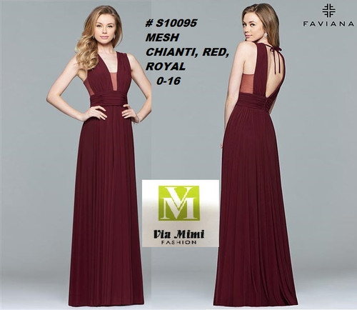 FAVIANA STYLE #S10095  STRETCH CREPE JERSEY   SIZE : 00-14  COLOR: CRIMSON, FOREST GREEN, NAVY  FOR MORE IMFORMATION AND PRICE PLEASE GIVE US A CALL   WE BEAT  ALL PRICES !!!!  VIA MIMI FASHION  1333 S. SANTEE ST.  LA,CA.90015  TEL: (213)748-MIMI (6464)  FAX: (213)749-MIMI (6464)  E-Mail: mimi@viamimifashion.com  http://viamimifashion.com  https://www.facebook.com/viamimifashion    https://www.instagram.com/viamimifashion  https://twitter.com/viamimifashion