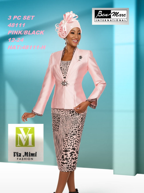 BEN MARC STYLE #48111  3 PC SET  COLOR: PINK/BLACK  SIZE : 12-24  HAT: 48111-H  FOR MORE IMFORMATION AND PRICE PLEASE GIVE US A CALL   WE BEAT  ALL PRICES !!!!  VIA MIMI FASHION  1333 S. SANTEE ST.  LA,CA.90015  TEL: (213)748-MIMI (6464)  FAX: (213)749-MIMI (6464)  E-Mail: mimi@viamimifashion.com  http://viamimifashion.com  https://www.facebook.com/viamimifashion    https://www.instagram.com/viamimifashion  https://twitter.com/viamimifashion