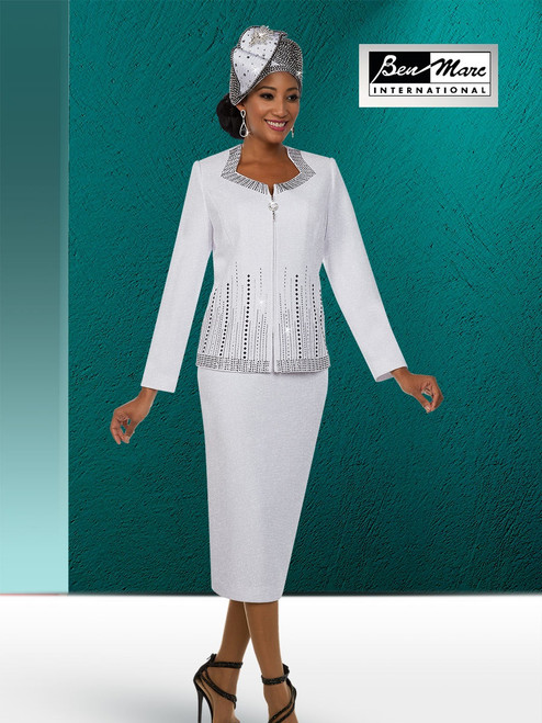 BEN MARC STYLE #48125  2 PC KNIT  SET  COLOR: WHITE/BLACK   SIZE :8-20  HAT: 48125-H  FOR MORE IMFORMATION AND PRICE PLEASE GIVE US A CALL   WE BEAT  ALL PRICES !!!!  VIA MIMI FASHION  1333 S. SANTEE ST.  LA,CA.90015  TEL: (213)748-MIMI (6464)  FAX: (213)749-MIMI (6464)  E-Mail: mimi@viamimifashion.com  http://viamimifashion.com  https://www.facebook.com/viamimifashion    https://www.instagram.com/viamimifashion  https://twitter.com/viamimifashion