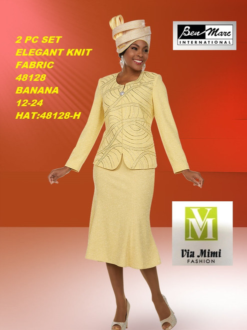 BEN MARC STYLE #48128  2 PC KNIT SET  COLOR: BANANA  SIZE : 12-24  HAT: 48128-H  FOR MORE IMFORMATION AND PRICE PLEASE GIVE US A CALL   WE BEAT  ALL PRICES !!!!  VIA MIMI FASHION  1333 S. SANTEE ST.  LA,CA.90015  TEL: (213)748-MIMI (6464)  FAX: (213)749-MIMI (6464)  E-Mail: mimi@viamimifashion.com  http://viamimifashion.com  https://www.facebook.com/viamimifashion    https://www.instagram.com/viamimifashion  https://twitter.com/viamimifashion