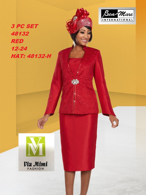 BEN MARC STYLE #48132  3 PC SET  COLOR: RED  SIZE : 12-24  HAT: 48132-H  FOR MORE IMFORMATION AND PRICE PLEASE GIVE US A CALL   WE BEAT  ALL PRICES !!!!  VIA MIMI FASHION  1333 S. SANTEE ST.  LA,CA.90015  TEL: (213)748-MIMI (6464)  FAX: (213)749-MIMI (6464)  E-Mail: mimi@viamimifashion.com  http://viamimifashion.com  https://www.facebook.com/viamimifashion    https://www.instagram.com/viamimifashion  https://twitter.com/viamimifashion