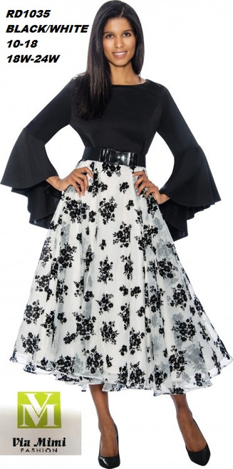 ROSE COLLECTION  STYLE #RD1035  COLOR: BLACK/WHITE  SIZE: 10-18  _______ 18W-24W  FOR MORE IMFORMATION AND PRICE PLEASE GIVE US A CALL   WE BEAT  ALL PRICES !!!!  VIA MIMI FASHION  1333 S. SANTEE ST.  LA,CA.90015  TEL: (213)748-MIMI (6464)  FAX: (213)749-MIMI (6464)  E-Mail: mimi@viamimifashion.com  http://viamimifashion.com  https://www.facebook.com/viamimifashion    https://www.instagram.com/viamimifashion  https://twitter.com/viamimifashion