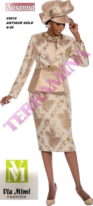 SUSANA STYLE #3801 - 3 PC SET  COLOR: ANTIQUE GOLD  SIZE: 8-26  FOR MORE IMFORMATION AND PRICE PLEASE GIVE US A CALL   WE BEAT  ALL PRICES !!!!  VIA MIMI FASHION  1333 S. SANTEE ST.  LA,CA.90015  TEL: (213)748-MIMI (6464)  FAX: (213)749-MIMI (6464)  E-Mail: mimi@viamimifashion.com  http://viamimifashion.com  https://www.facebook.com/viamimifashion    https://www.instagram.com/viamimifashion  https://twitter.com/viamimifashion