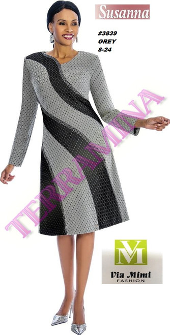 SUSANA STYLE #3839 - ONE PC DRESS  COLOR: GREY  SIZE: 8-24  FOR MORE IMFORMATION AND PRICE PLEASE GIVE US A CALL   WE BEAT  ALL PRICES !!!!  VIA MIMI FASHION  1333 S. SANTEE ST.  LA,CA.90015  TEL: (213)748-MIMI (6464)  FAX: (213)749-MIMI (6464)  E-Mail: mimi@viamimifashion.com  http://viamimifashion.com  https://www.facebook.com/viamimifashion    https://www.instagram.com/viamimifashion  https://twitter.com/viamimifashion