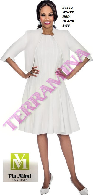 TERRAMINA #7612  COLOR: WHITE, RED, WHITE  SIZE: 8-26  FOR MORE IMFORMATION AND PRICE PLEASE GIVE US A CALL   WE BEAT  ALL PRICES !!!!  VIA MIMI FASHION  1333 S. SANTEE ST.  LA,CA.90015  TEL: (213)748-MIMI (6464)  FAX: (213)749-MIMI (6464)  E-Mail: mimi@viamimifashion.com  http://viamimifashion.com  https://www.facebook.com/viamimifashion    https://www.instagram.com/viamimifashion  https://twitter.com/viamimifashion