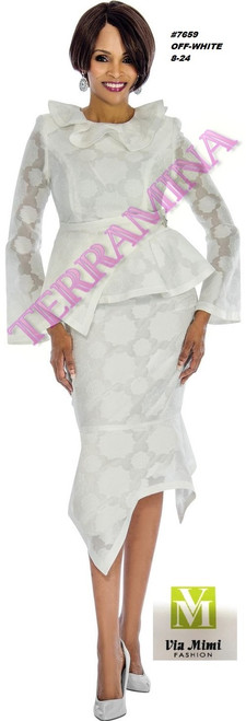 TERRAMINA #7659___   COLOR: OFF-WHITE  SIZE: 8-24  FOR MORE IMFORMATION AND PRICE PLEASE GIVE US A CALL   WE BEAT  ALL PRICES !!!!  VIA MIMI FASHION  1333 S. SANTEE ST.  LA,CA.90015  TEL: (213)748-MIMI (6464)  FAX: (213)749-MIMI (6464)  E-Mail: mimi@viamimifashion.com  http://viamimifashion.com  https://www.facebook.com/viamimifashion    https://www.instagram.com/viamimifashion  https://twitter.com/viamimifashion