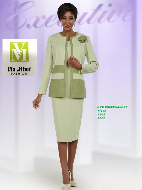 EXECUTIVE #11695___2 PC DRESS/JACKET  COLOR: SAGE  SIZE: 12-30  FOR MORE IMFORMATION AND PRICE PLEASE GIVE US A CALL   WE BEAT  ALL PRICES !!!!  VIA MIMI FASHION  1333 S. SANTEE ST.  LA,CA.90015  TEL: (213)748-MIMI (6464)  FAX: (213)749-MIMI (6464)  E-Mail: mimi@viamimifashion.com  http://viamimifashion.com  https://www.facebook.com/viamimifashion    https://www.instagram.com/viamimifashion  https://twitter.com/viamimifashion