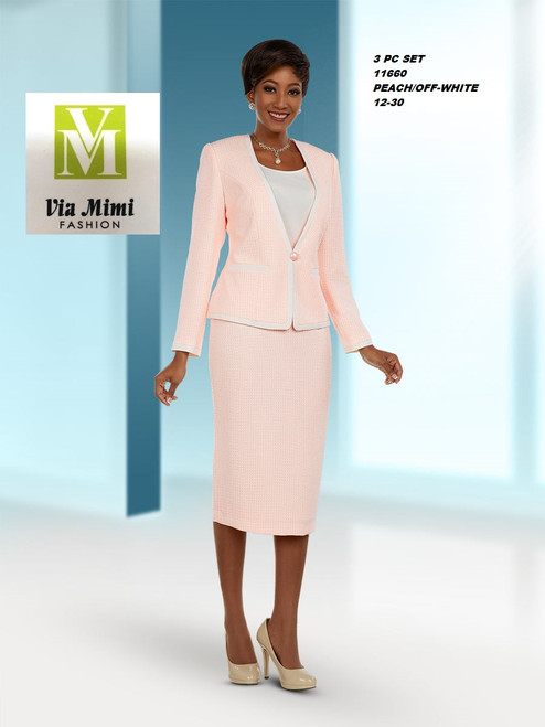 EXECUTIVE #11660__  3 PC SET  COLOR: PEACH/OFF WHITE  SIZE: 12-30  FOR MORE IMFORMATION AND PRICE PLEASE GIVE US A CALL   WE BEAT  ALL PRICES !!!!  VIA MIMI FASHION  1333 S. SANTEE ST.  LA,CA.90015  TEL: (213)748-MIMI (6464)  FAX: (213)749-MIMI (6464)  E-Mail: mimi@viamimifashion.com  http://viamimifashion.com  https://www.facebook.com/viamimifashion    https://www.instagram.com/viamimifashion  https://twitter.com/viamimifashion