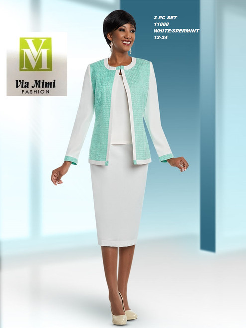 EXECUTIVE #11668__  3 PC SET    COLOR: WHTE/SPERMINT    SIZE: 12-34    FOR MORE IMFORMATION AND PRICE PLEASE GIVE US A CALL     WE BEAT  ALL PRICES !!!!  VIA MIMI FASHION  1333 S. SANTEE ST.  LA,CA.90015  TEL: (213)748-MIMI (6464)  FAX: (213)749-MIMI (6464)  E-Mail: mimi@viamimifashion.com  http://viamimifashion.com  https://www.facebook.com/viamimifashion    https://www.instagram.com/viamimifashion  https://twitter.com/viamimifashion