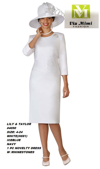 LILY & TAYLOR #4090__ 1 PC NOVELTY DRESS W RHINESTONE   COLOR: WHITE, ICE BLUE, NAVY  SIZE: 4-24  FOR MORE IMFORMATION AND PRICE PLEASE GIVE US A CALL   WE BEAT  ALL PRICES !!!!  VIA MIMI FASHION  1333 S. SANTEE ST.  LA,CA.90015  TEL: (213)748-MIMI (6464)  FAX: (213)749-MIMI (6464)  E-Mail: mimi@viamimifashion.com  http://viamimifashion.com  https://www.facebook.com/viamimifashion    https://www.instagram.com/viamimifashion  https://twitter.com/viamimifashion