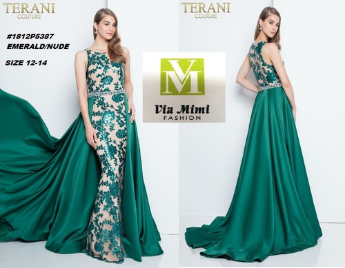TERANI #1812P5387__ EMERALD/NUDE  SIZE : 12-14  FOR MORE IMFORMATION AND PRICE PLEASE GIVE US A CALL   WE BEAT  ALL PRICES !!!!  VIA MIMI FASHION  1333 S. SANTEE ST.  LA,CA.90015  TEL: (213)748-MIMI (6464)  FAX: (213)749-MIMI (6464)  E-Mail: mimi@viamimifashion.com  http://viamimifashion.com  https://www.facebook.com/viamimifashion    https://www.instagram.com/viamimifashion  https://twitter.com/viamimifashion