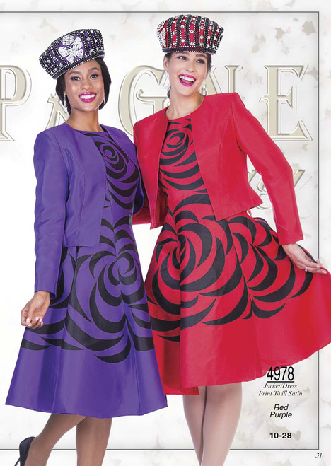 CHAMPAGNE #4978__ 2 PC SET  COLOR: RED, PURPLE  SIZE : 10-28  PRINT TWILL SATIN  FOR MORE IMFORMATION AND PRICE PLEASE GIVE US A CALL   WE BEAT  ALL PRICES !!!!  VIA MIMI FASHION  1333 S. SANTEE ST.  LA,CA.90015  TEL: (213)748-MIMI (6464)  FAX: (213)749-MIMI (6464)  E-Mail: mimi@viamimifashion.com  http://viamimifashion.com  https://www.facebook.com/viamimifashion    https://www.instagram.com/viamimifashion  https://twitter.com/viamimifashion