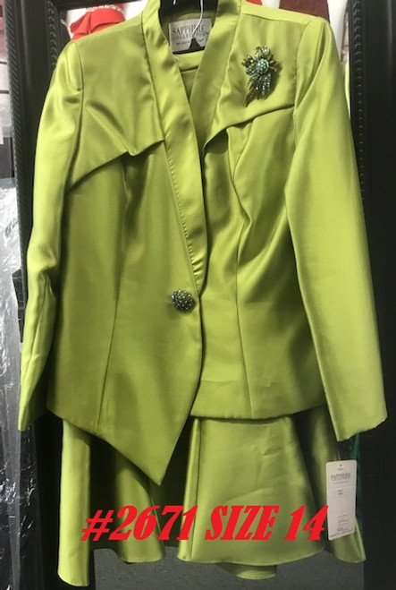 LILY TAYLOR #2671  GREEN  SIZE 14 ONLY !!!  FOR MORE IMFORMATION AND PRICE PLEASE GIVE US A CALL   WE BEAT  ALL PRICES !!!!  VIA MIMI FASHION  1333 S. SANTEE ST.  LA,CA.90015  TEL: (213)748-MIMI (6464)  FAX: (213)749-MIMI (6464)  E-Mail: mimi@viamimifashion.com  http://viamimifashion.com  https://www.facebook.com/viamimifashion    https://www.instagram.com/viamimifashion  https://twitter.com/viamimifashion