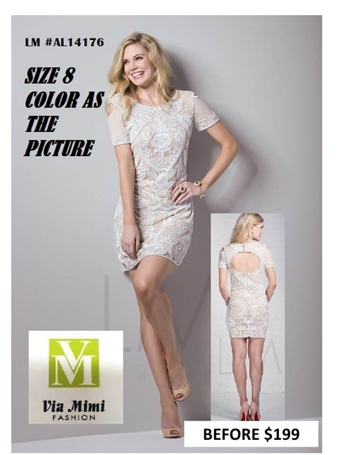 LM COLLECTION #AL14176  COLOR AS THE PICTURE SIZE 8 SPECIAL PRICE $159.00 !!