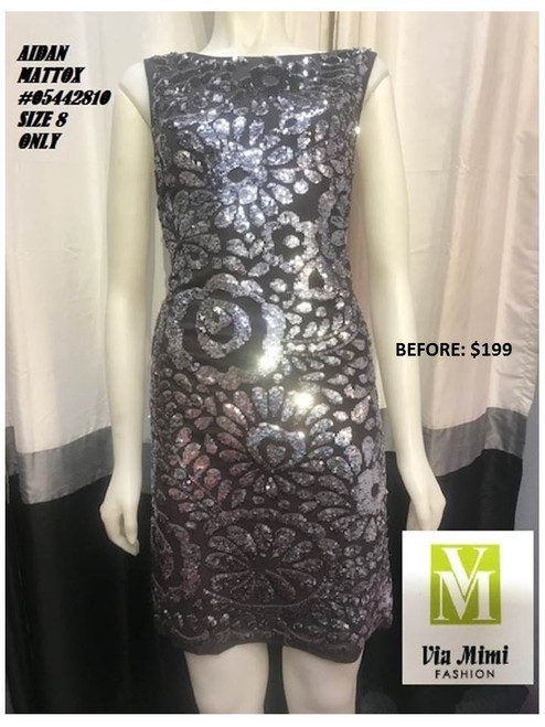 AIDAN MATTOX #05442810 COLOR AS THE PICTURE SIZE 8 ONLY SPECIAL PRICE $129.00 !!!