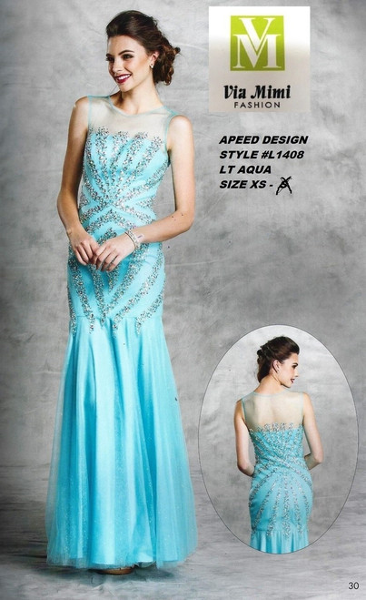 ASPEED DESIGN STYLE #L1408  LT AQUA SIZE XS-S ONLY SPECIAL PRICE $139.00 !!!
