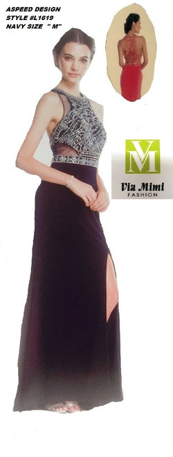 ASPEED DESIGN STYLE #L1619  NAVY  SIZE -M-  SPECIAL PRICE $139.00!!!  FOR PRICE AND MORE IMFORMATION  PLEASE GIVE US A CALL   WE BEAT  ALL PRICES !!!!  VIA MIMI FASHION  1333 S. SANTEE ST.  LA,CA.90015  TEL: (213)748-MIMI (6464)  FAX: (213)749-MIMI (6464)  E-Mail: mimi@viamimifashion.com  http://viamimifashion.com  https://www.facebook.com/viamimifashion    https://www.instagram.com/viamimifashion  https://twitter.com/viamimifashion