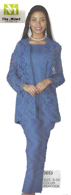 LILY TAYLOR STYLE #3853/3 PC CRINKLE PANT SUIT !!  COLOR: PEACOCK  SIZE: S-3X  FOR PRICE AND MORE IMFORMATION  PLEASE GIVE US A CALL   WE BEAT  ALL PRICES !!!!  VIA MIMI FASHION  1333 S. SANTEE ST.  LA,CA.90015  TEL: (213)748-MIMI (6464)  FAX: (213)749-MIMI (6464)  E-Mail: mimi@viamimifashion.com  http://viamimifashion.com  https://www.facebook.com/viamimifashion    https://www.instagram.com/viamimifashion  https://twitter.com/viamimifashion