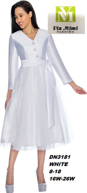 DRESSES BY NUBIANO  STYLE #DN3181  COLOR: WHITE  SIZE: 8-18       16W-26W  FOR PRICE AND MORE IMFORMATION  PLEASE GIVE US A CALL   WE BEAT  ALL PRICES !!!!  VIA MIMI FASHION  1333 S. SANTEE ST.  LA,CA.90015  TEL: (213)748-MIMI (6464)  FAX: (213)749-MIMI (6464)  E-Mail: mimi@viamimifashion.com  http://viamimifashion.com  https://www.facebook.com/viamimifashion    https://www.instagram.com/viamimifashion  https://twitter.com/viamimifashion
