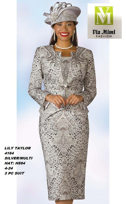 LILY & TAYLOR STYLE #4164  COLOR: SILVER/MULTI (594)  SIZE: 4-24  3 PC NOVELTY  SUIT  FOR PRICE AND MORE IMFORMATION  PLEASE GIVE US A CALLL    WE BEAT  ALL PRICES !!!!  VIA MIMI FASHION  1333 S. SANTEE ST.  LA,CA.90015  TEL: (213)748-MIMI (6464)  FAX: (213)749-MIMI (6464)  E-Mail: mimi@viamimifashion.com  http://viamimifashion.com  https://www.facebook.com/viamimifashion    https://www.instagram.com/viamimifashion  https://twitter.com/viamimifashion.