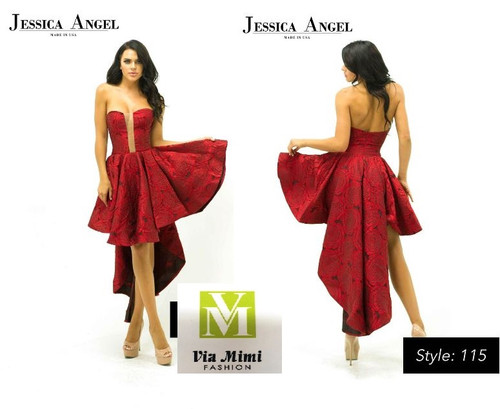 JESSICA  ANGEL COLLECTION STYLE #115 !!!  HIGH LOW- SHORT DRESS  SIZE: XXS- XXL  FOR PRICE AND MORE IMFORMATION  PLEASE GIVE US A CALL   WE BEAT  ALL PRICES !!!!  VIA MIMI FASHION  1333 S. SANTEE ST.  LA,CA.90015  TEL: (213)748-MIMI (6464)  FAX: (213)749-MIMI (6464)  E-Mail: mimi@viamimifashion.com  http://viamimifashion.com  https://www.facebook.com/viamimifashion    https://www.instagram.com/viamimifashion  https://twitter.com/viamimifashion