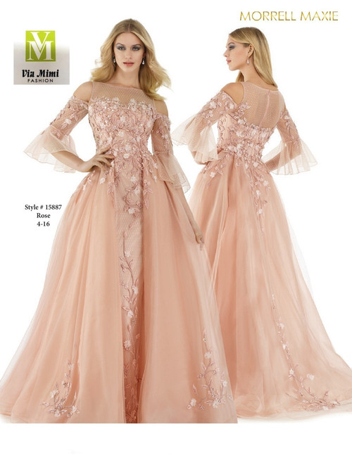 MORRELL MAXIE #15887 - COLOR: ROSE - SIZE: 4-16
