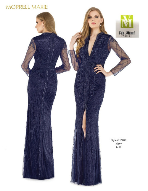 MORRELL MAXIE #15891 - COLOR: NAVY - SIZE: 6-18