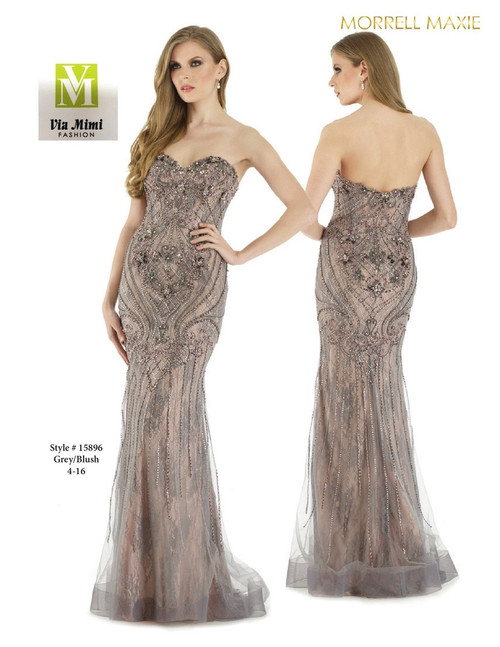 MORRELL MAXIE #15896 - COLOR: GREY-BLUSH - SIZE: 4-16