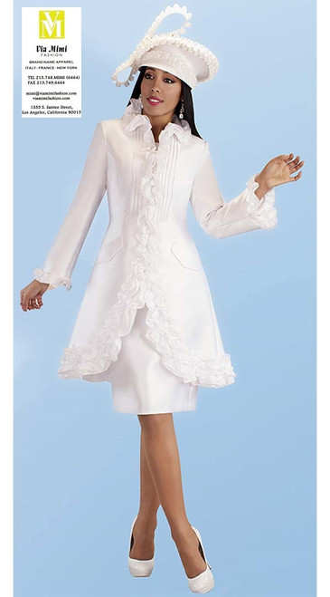 TALLY TAYLOR 4702 FALL 2019 2 PC. DRESS & JACKET COLORS:WHITE,BLACK,RED, SIZE: 8-18,16W-26W