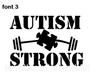 Autism Car Decal - Custom Made