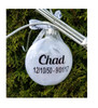 Personalized Memorial Gift - Christmas Angel in Heaven I call him/her my angel