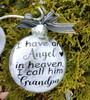 Grandpa Memorial Gift - Christmas Angel in Heaven I call her Mom, Parent Loss Gift In Memory of  Sympathy