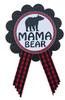 Woodland Lumberjack Baby Shower Pin