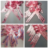 pink personalized ribbons