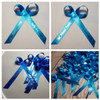 turquoise personalized ribbons custom made for your event
