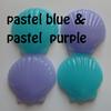 Seashell Mini Soaps - For Bridal Shower, Baby Shower, Wedding Favors Pack of 25