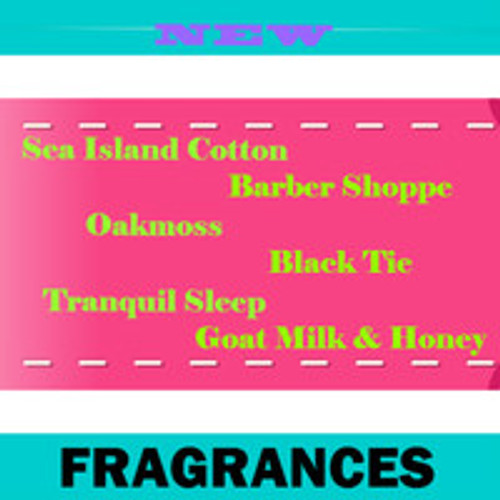 New fragrances!