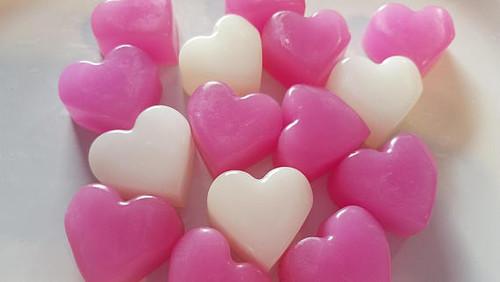 Heart Soap - Engagement, Bridal Shower Party Favor or Wedding 25
