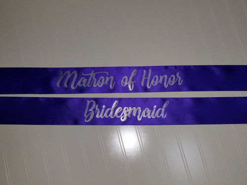 ef83914bd3 Bridal Shower sash for Bride to Be to wear at Bachelorette Party