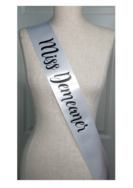 Personalized Party Sash