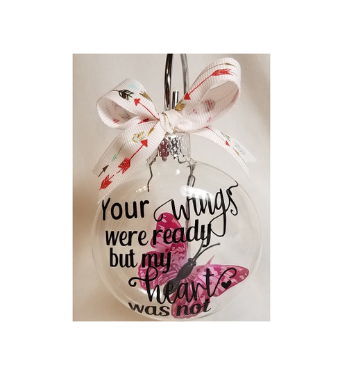 Miscarriage Memorial Ornament Butterfly